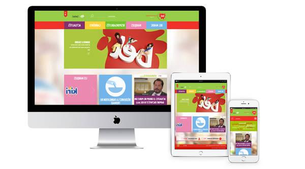 Création de site web professionnel algerie Maroc